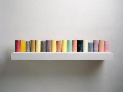 Rachel Whiteread Line Up 2007-2008 Gagosian Gallery © Rachel Whiteread