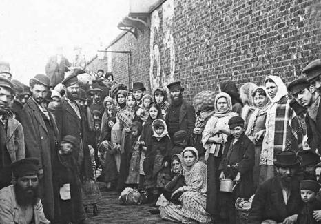 Réfugiés Juifs Russes arrivant en Angleterre, 1882