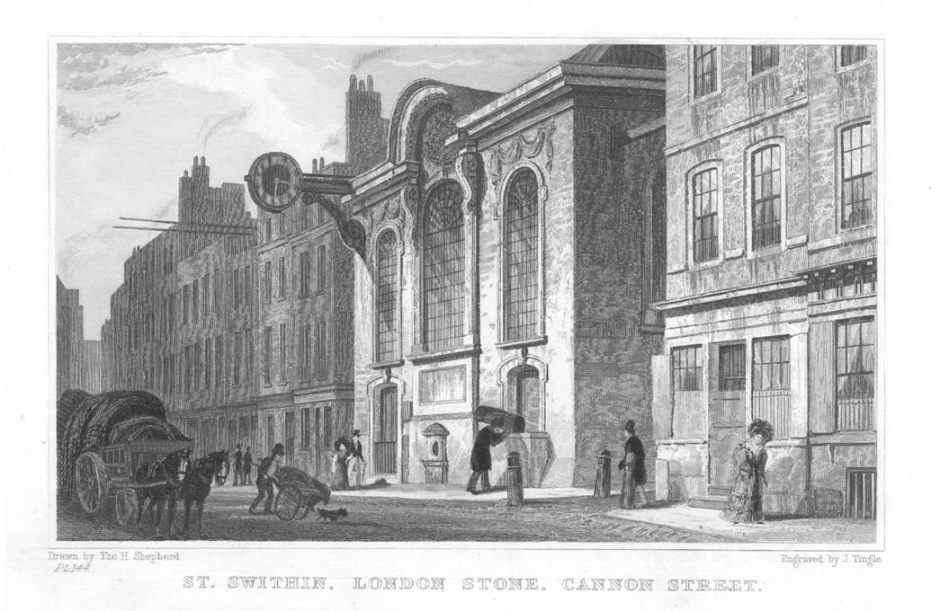 st_swithins_london_stone_church_1831.jpg
