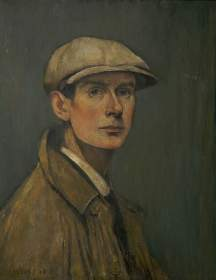 Lowry, Laurence Stephen; Self Portrait; The L. S. Lowry Collection; http://www.artuk.org/artworks/self-portrait-162334